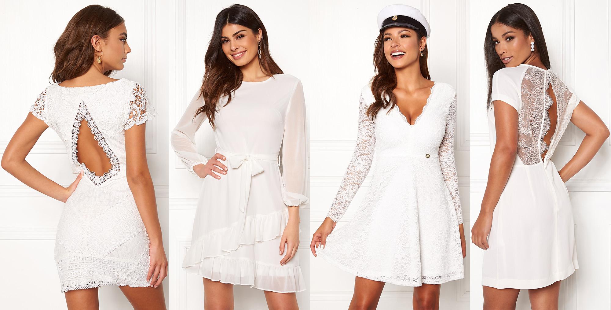 de715ce0ae2c studentklänningar 2019 studenten vita klänningar med spets