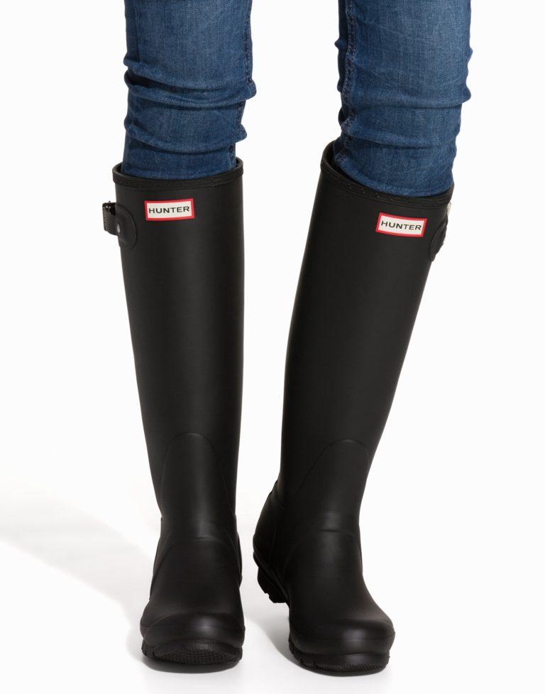 Hunter Original Tall boots svarta stövlar