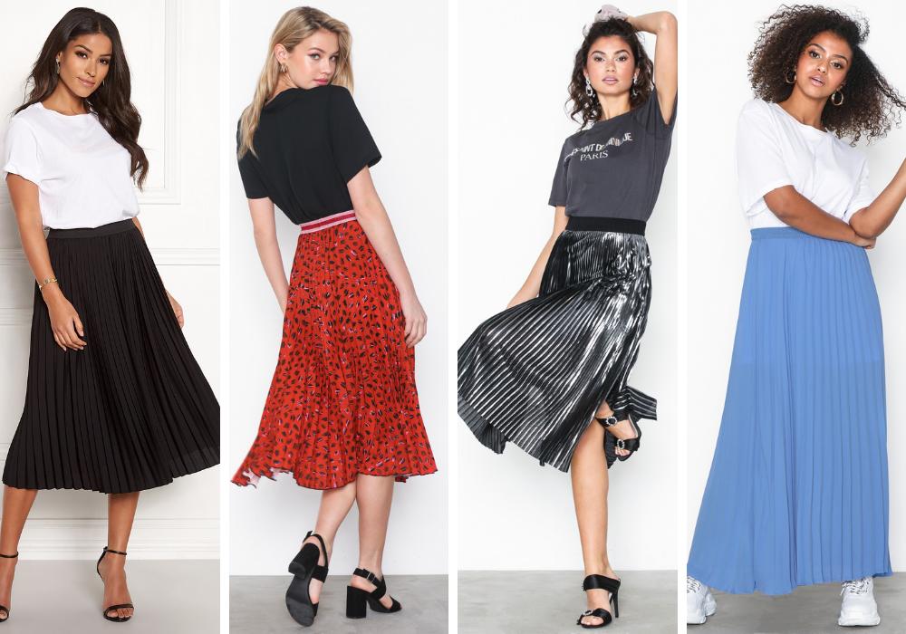 Plisserad kjol köptips + hur du stylar en trendig look 2020