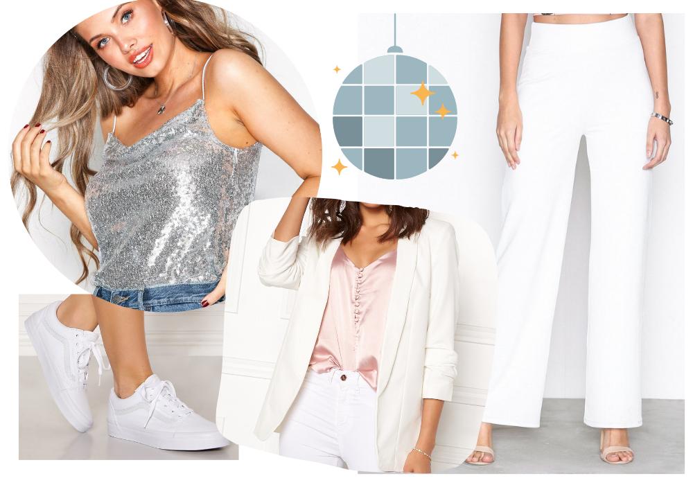 70 tals kläder outfit inspiration för 70 talsfest Fiasmode