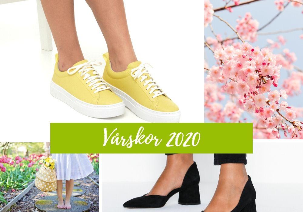 skor till klänning vår