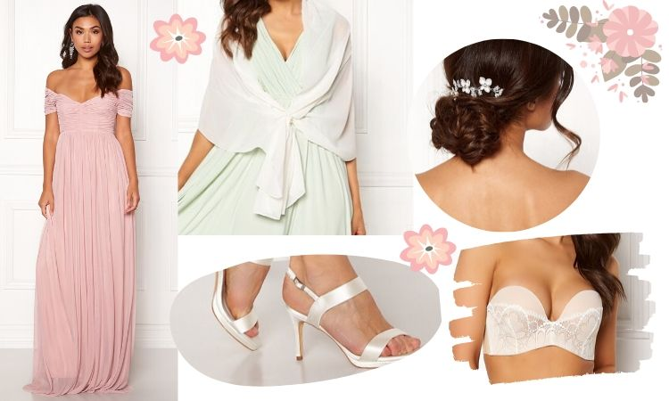 Sommarbröllop 2020 tärna klänning