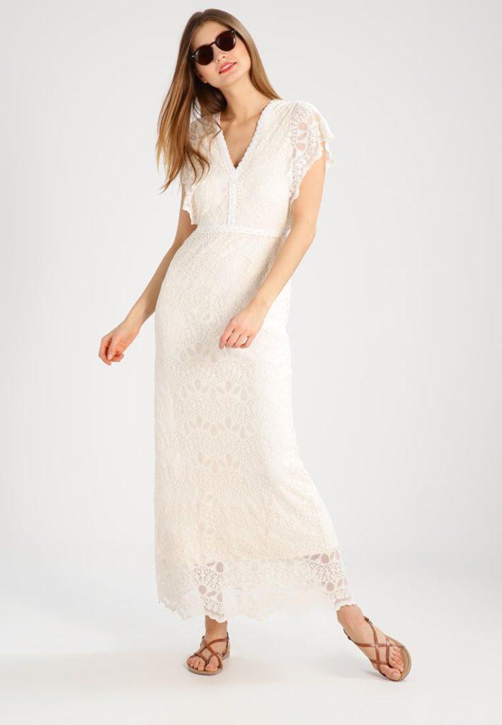 maxiklänning vit långklänning