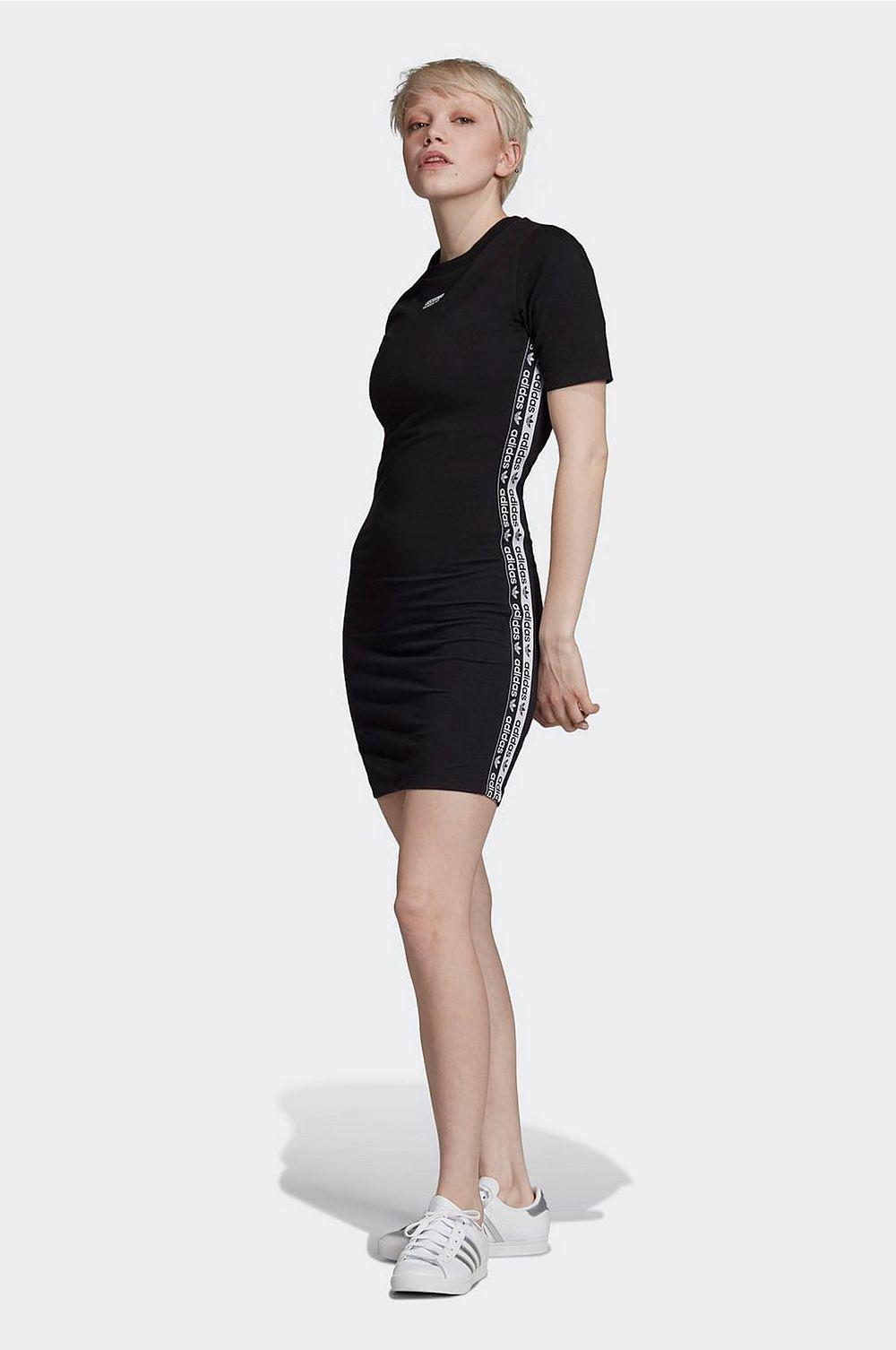 tight sportig klänning adidas svart