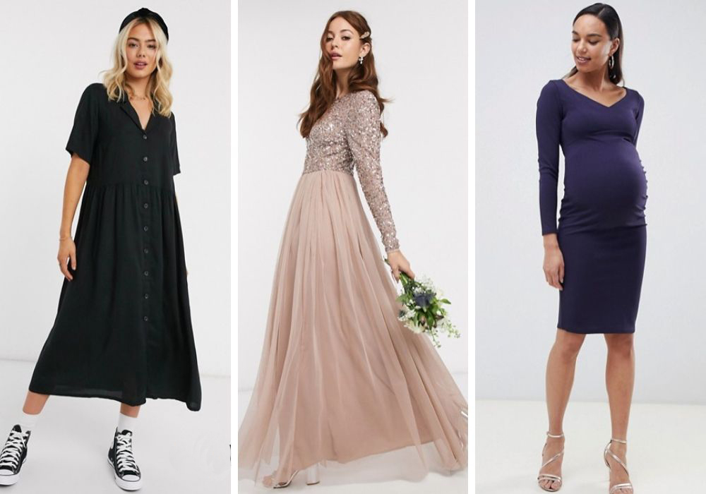 asos klänningar