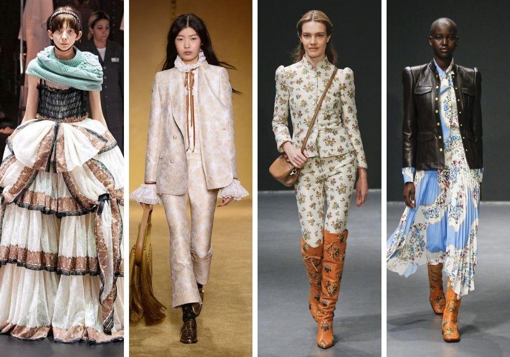 Viktorianskt mode trender hösten 2020