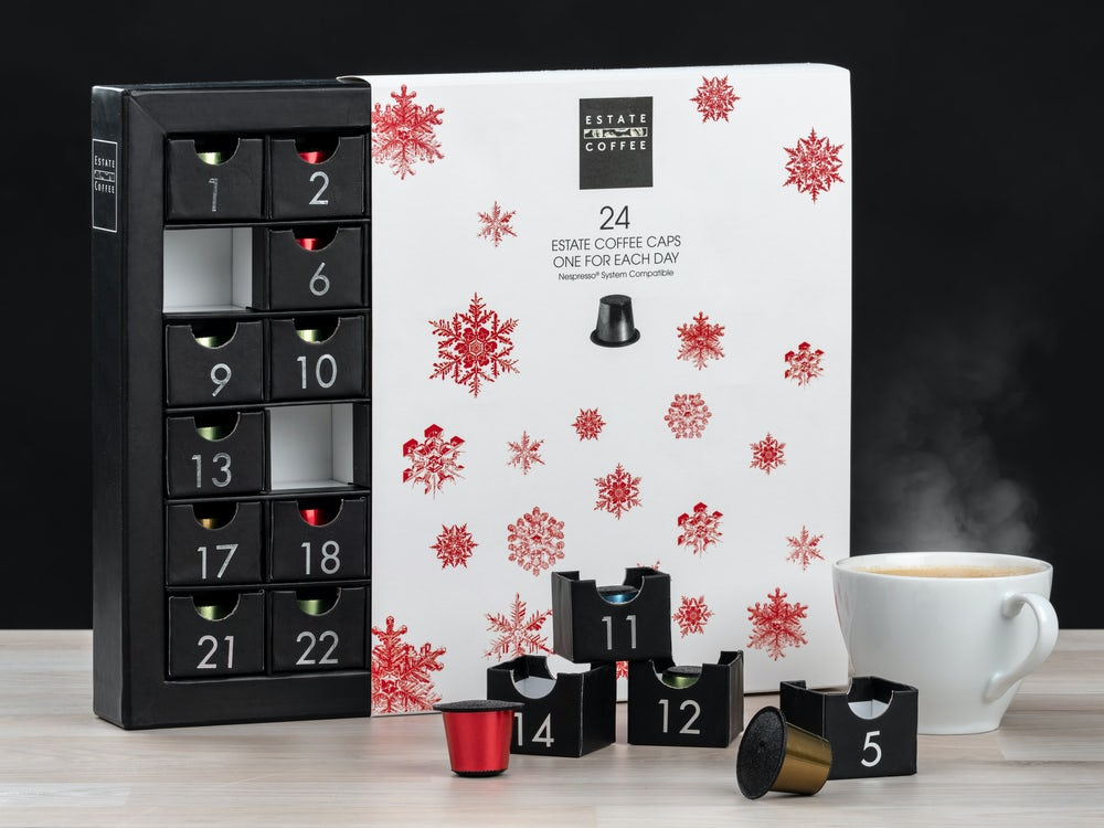 julkalender kaffe adventskalender kaffekapslar