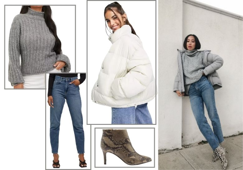 pufferjacka puffer jacket outfit