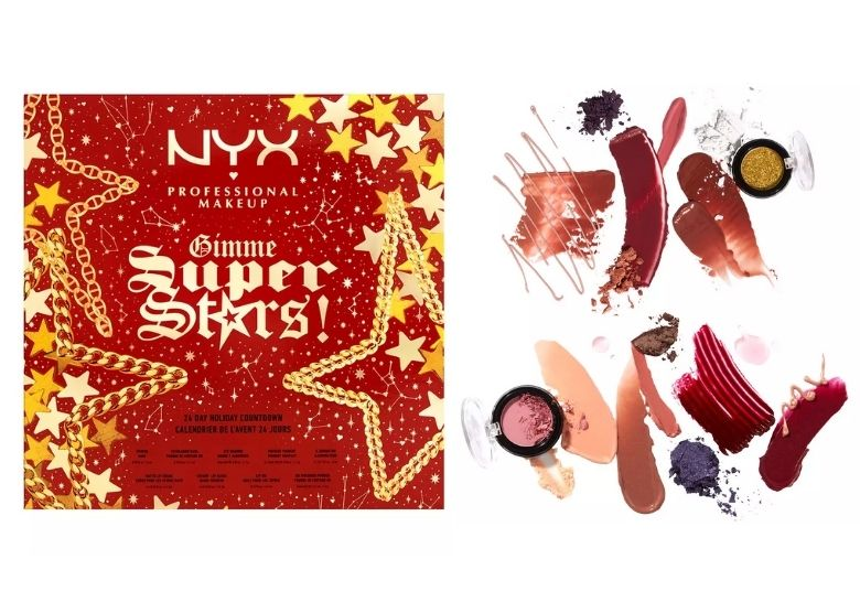 nyx adventskalender 2021 sminkkalender